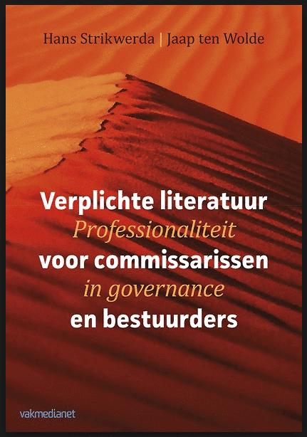 Boek Verplichte literatuur voor commissarissen en bestuurders